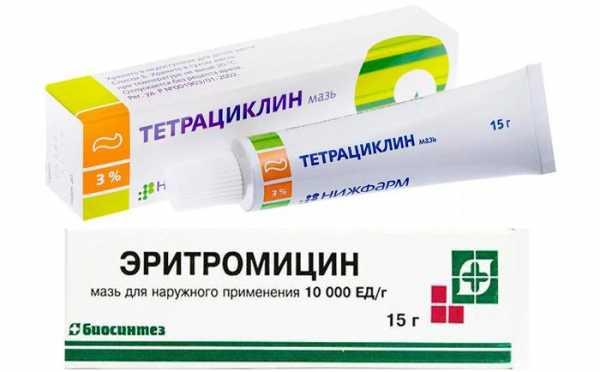Глазная мазь: противовоспалительная и антибактериальная, список от воспаления с антибиотиком широкого спектра действия, капли для век