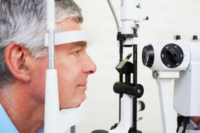 Метод тонометрии при измерении внутриглазного давления