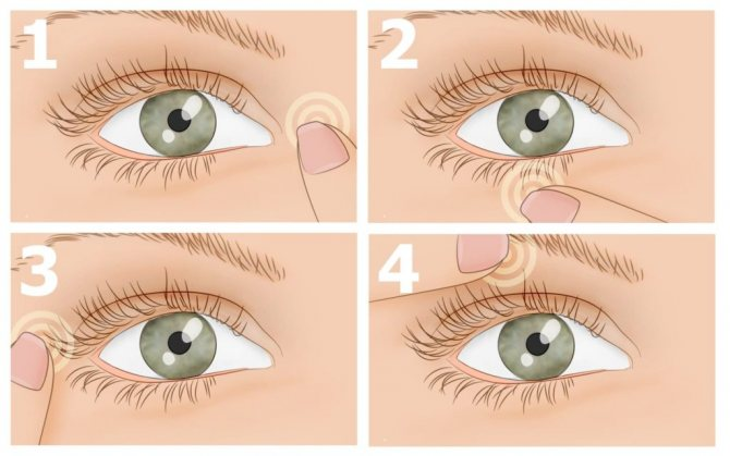 Массаж при близорукости: как правильно делать на разных участках тела?
