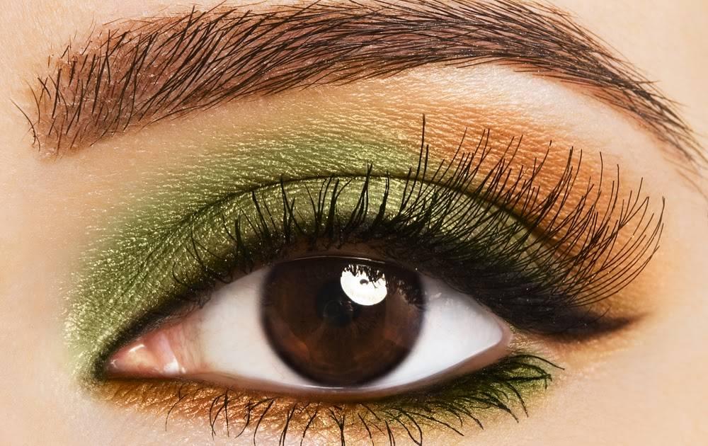 Глаза стали зелеными