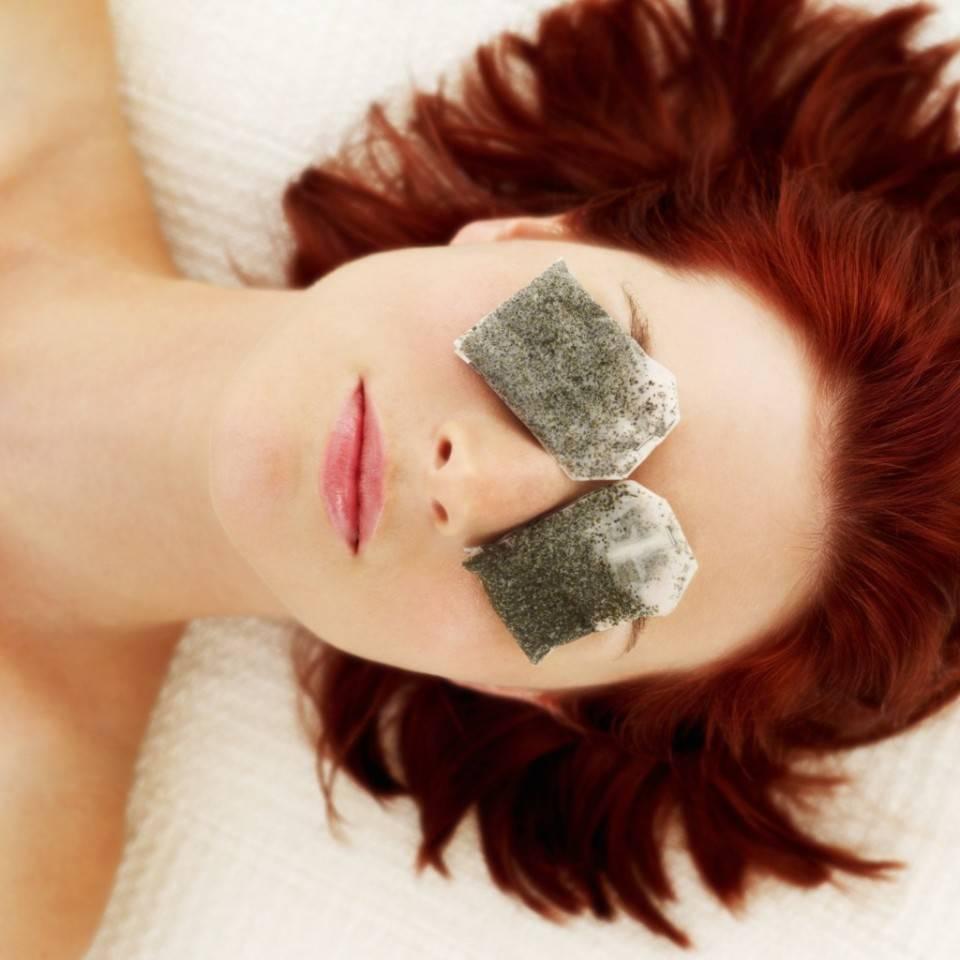 Чайные пакетики на глаза: примочки для глаз от отеков и синяков