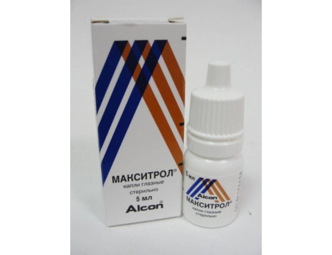 Макситрол — капли для глаз, носа и ушей
