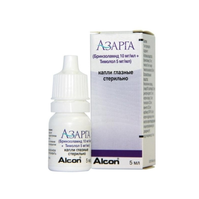 Глазные капли бринзоламид: инструкция, аналоги, цена