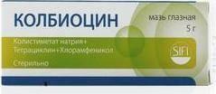 Колбиоцин мазь глазная - инструкция, цена, отзывы