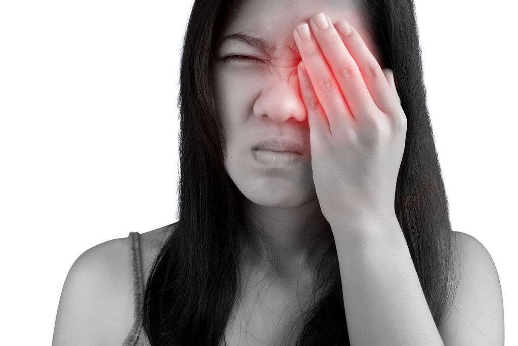 """Боль в левом глазу: причины и лечение - """"здоровое око"""""""