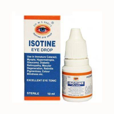 Айсотин глазные капли (isotine) купить с доставкой по всей россии