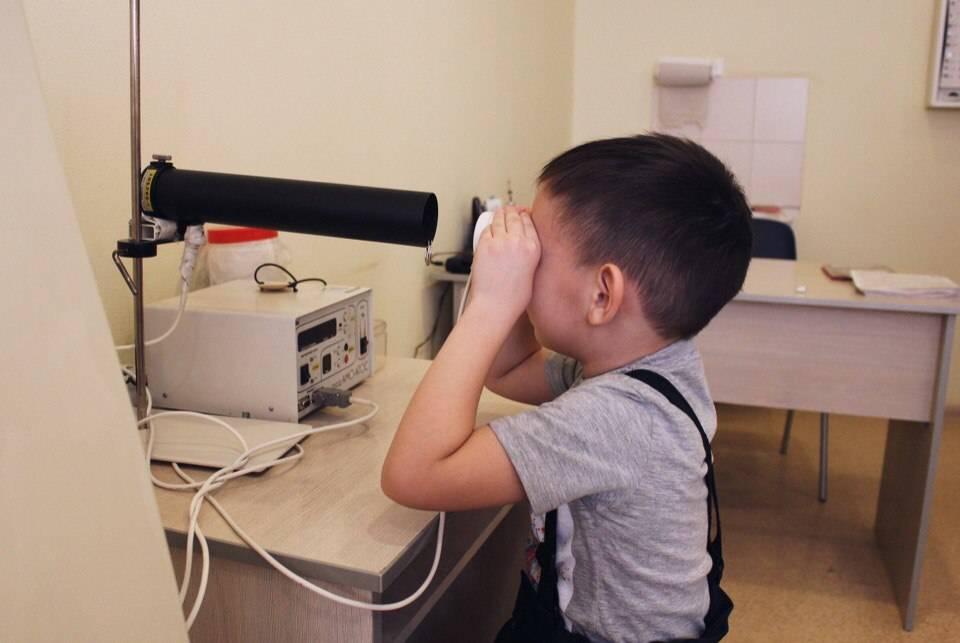 Аппаратное лечение амблиопии у детей и взрослых