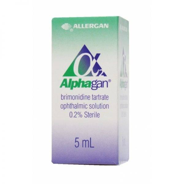 «альфаган» (глазные капли): инструкция по применению и отзывы