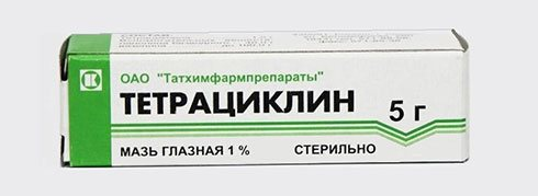 Глазная тетрациклиновая мазь: инструкция по применению, цена, отзывы при прыщах и конъюнктивите - medside.ru