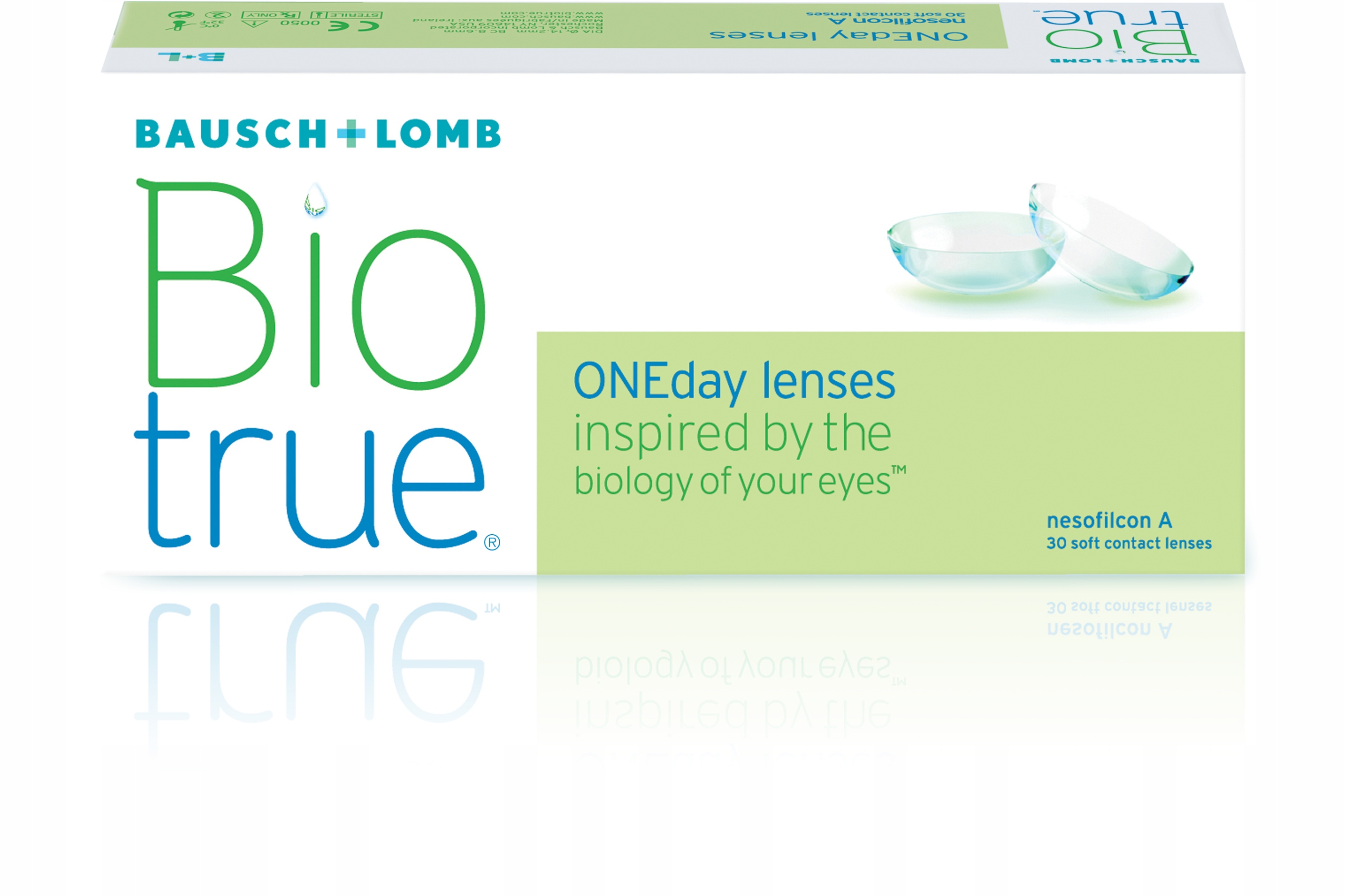 Biotrue - обзор контактных линз, отзывы