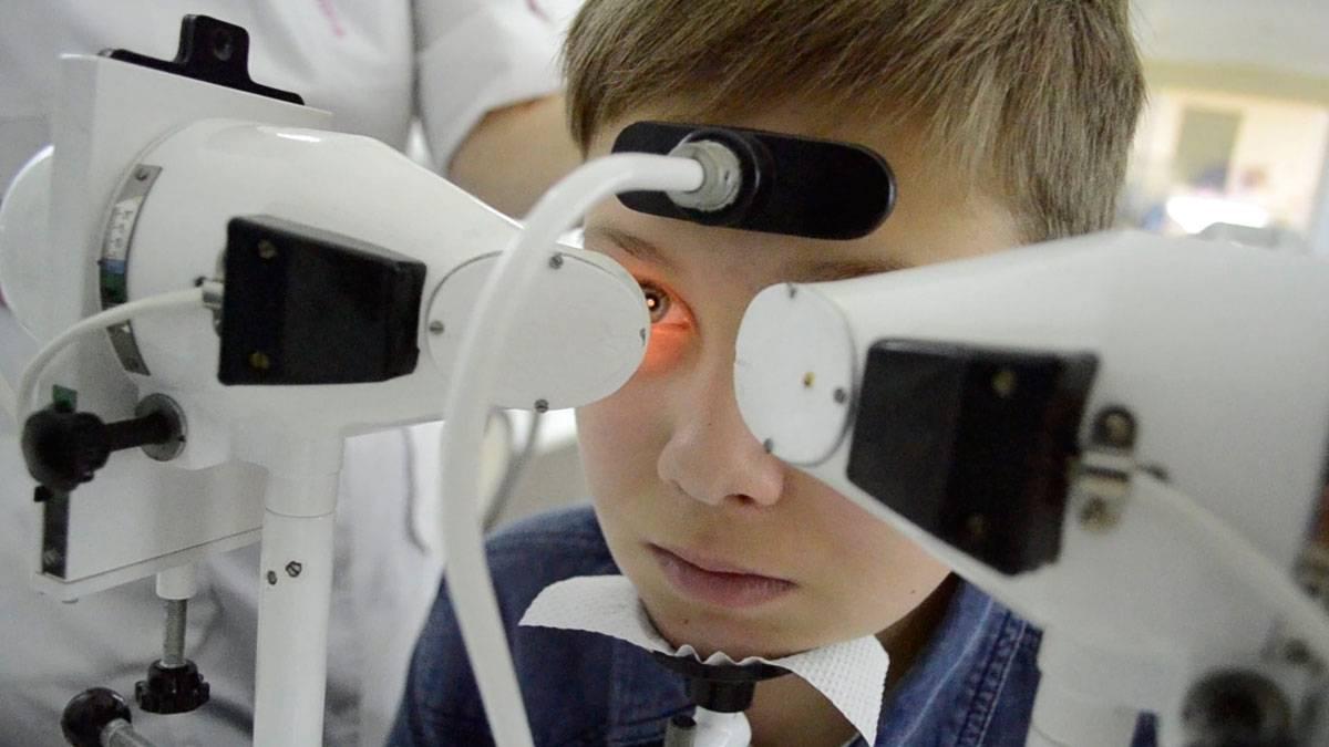 Аппаратное лечение глаз у подростков и детей