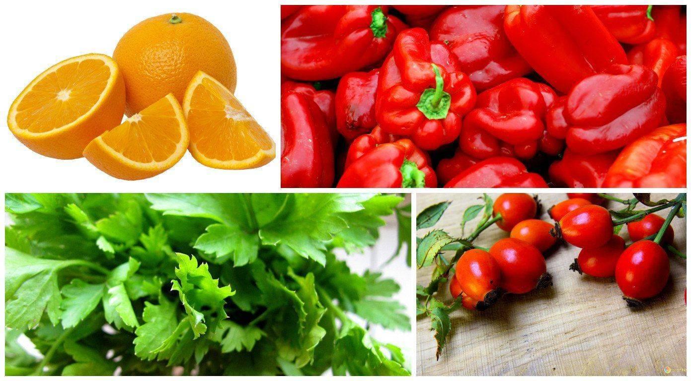 Фрукты, овощи, зелень и ягоды при глаукоме