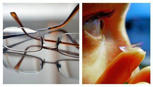 Очки и контактные линзы при коррекции дальнозоркости