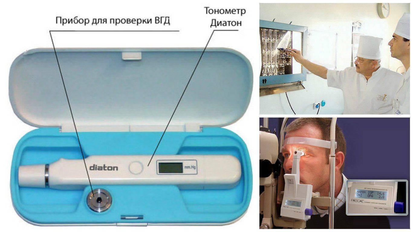 Различные методы и приборы для диагностики глаукомы