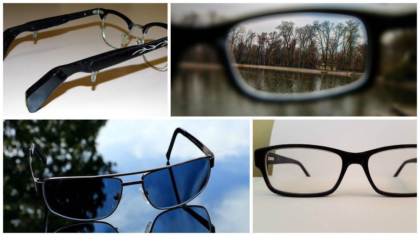 Разные очки при миопии