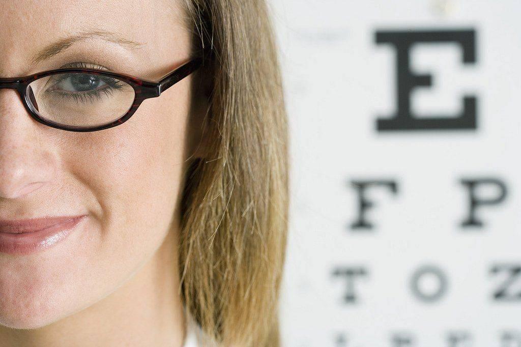 Проверка зрения на наличие миопии слабой степени