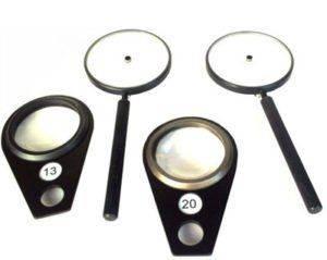 Ручной зеркальный офтальмоскоп