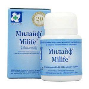 Милайф таблетки - упаковка