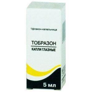 Тобразон - капли для глаз