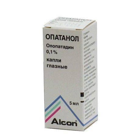 Глазные капли олопатадин: состав, применение, противопоказания.