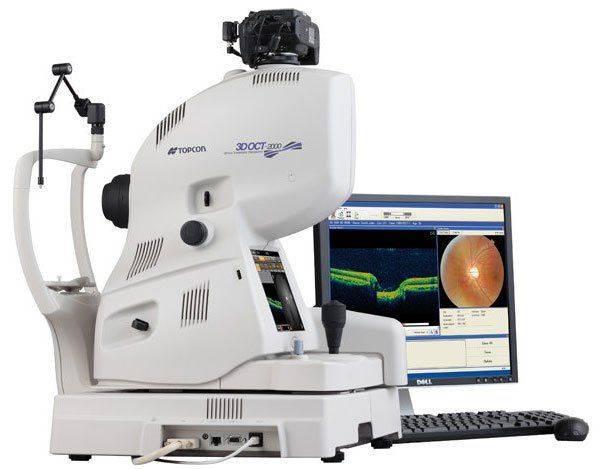Оптическая когерентная томография: камера