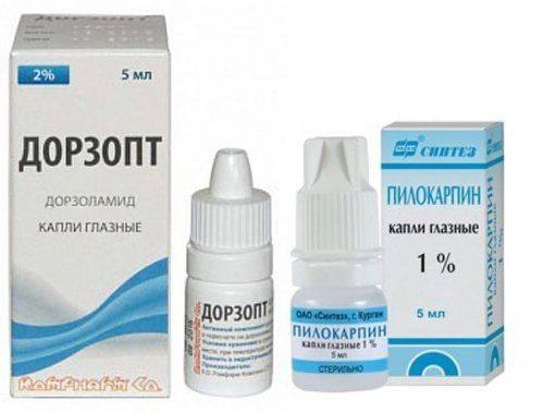 Пилокарпин Дорзопт капли